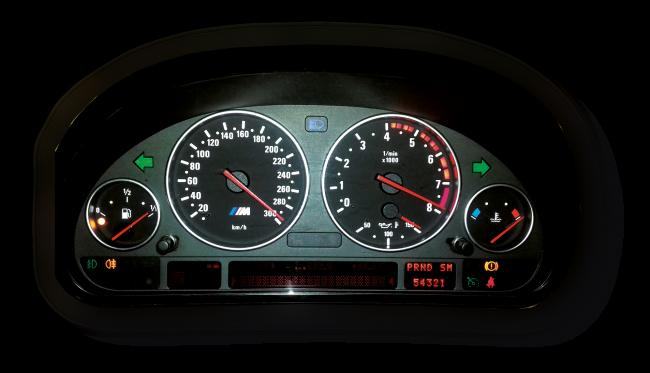 Naprawa uszkodzonych pixeli liczników w samochodach marki BMW: e38, e39 oraz e53, a także: RANGE ROVER VOGUE L322